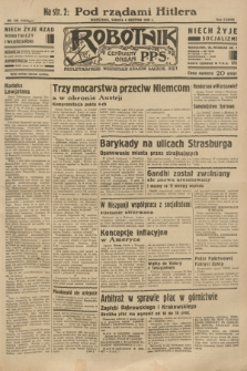 Robotnik : centralny organ P.P.S. R.38 [i.e.39], nr 278 (5 sierpnia 1933) = nr 5422