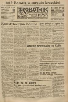 Robotnik : centralny organ P.P.S. R.38 [i.e.39], nr 285 (11 sierpnia 1933) = nr 5429
