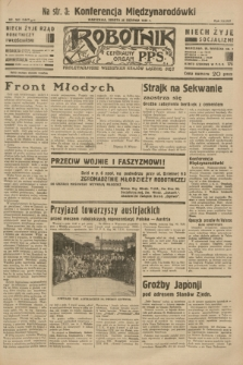 Robotnik : centralny organ P.P.S. R.38 [i.e.39], nr 303 (26 sierpnia 1933) = nr 5447