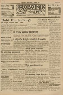 Robotnik : centralny organ P.P.S. R.37 [i.e.39], nr 305 (28 sierpnia 1933) = nr 5449