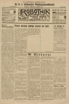 Robotnik : centralny organ P.P.S. R.37 [i.e.39], nr 303 [i.e.309] (31 sierpnia 1933) = nr 5453 (po konfiskacie nakład drugi)