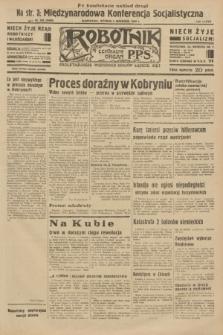 Robotnik : centralny organ P.P.S. R.37 [i.e.39], nr 316 (5 września 1933) = nr 5460 (po konfiskacie nakład drugi)