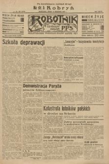Robotnik : centralny organ P.P.S. R. 37 [i.e.39], nr 330 (13 września 1933) = nr 5474 (po konfiskacie nakład drugi)