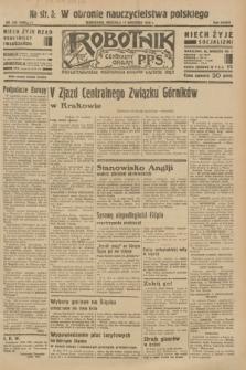 Robotnik : centralny organ P.P.S. R.37 [i.e.39], nr 336 (17 września 1933) = nr 5480