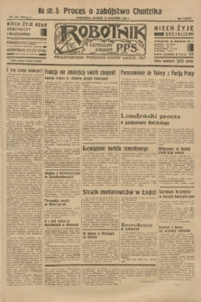 Robotnik : centralny organ P.P.S. R.37 [i.e.39], nr 338 (19 września 1933) = nr 5482