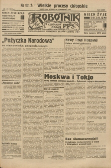Robotnik : centralny organ P.P.S. R.37 [i.e.39], nr 370 (10 października 1933) = nr 5514