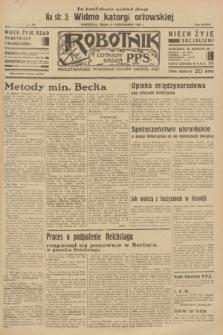 Robotnik : centralny organ P.P.S. R.37 [i.e.39], nr [372] (11 października 1933) = nr [5517] (po konfiskacie nakład drugi)