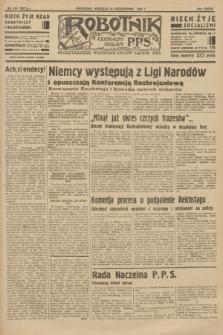 Robotnik : centralny organ P.P.S. R.37 [i.e.39], nr 376 (15 października 1933) = nr 5521