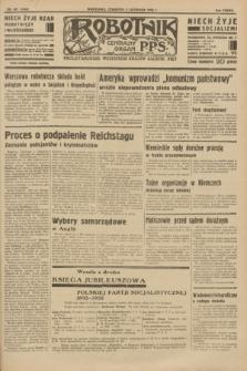 Robotnik : centralny organ P.P.S. R.37 [i.e.39], nr 401 (2 listopada 1933) = nr 5546