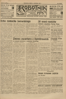 Robotnik : centralny organ P.P.S. R.37 [i.e.39], nr 404 (4 listopada 1933) = nr 5549