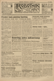 Robotnik : centralny organ P.P.S. R.37 [i.e.39], nr 407 (6 listopada 1933) = nr 5552