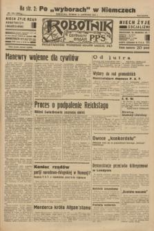 Robotnik : centralny organ P.P.S. R.38 [i.e.39], nr 418 (14 listopada 1933) = nr 5563
