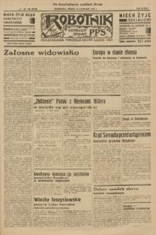 Robotnik : centralny organ P.P.S. R.37 [i.e.39], nr 425 (18 listopada 1933) = nr 5570 (po konfiskacie nakład drugi)