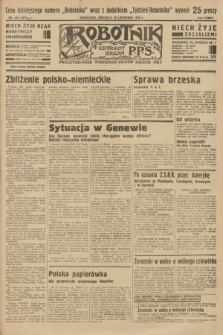 Robotnik : centralny organ P.P.S. R.37 [i.e.39], nr 426 (19 listopada 1933) = nr 5571