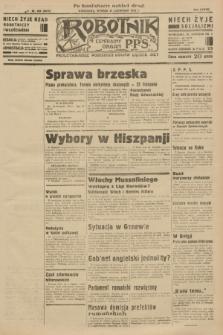 Robotnik : centralny organ P.P.S. R.37 [i.e.39], nr 429 (21 listopada 1933) = nr 5574 (po konfiskacie nakład drugi)
