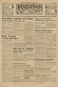 Robotnik : centralny organ P.P.S. R.37 [i.e.39], nr 439 (27 listopada 1933) = nr 5584