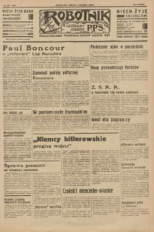 Robotnik : centralny organ P.P.S. R.37 [i.e.39], nr 455 (9 grudnia 1933) = nr 5600