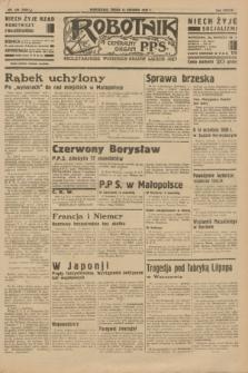 Robotnik : centralny organ P.P.S. R.37 [i.e.39], nr 459 (13 grudnia 1933) = nr 5604