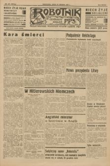 Robotnik : centralny organ P.P.S. R.38 [i.e.39], nr 467 (20 grudnia 1933) = nr 5612