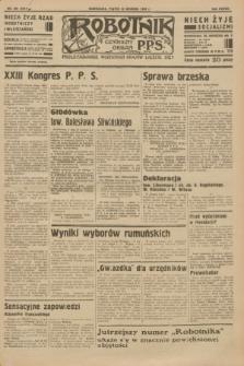 Robotnik : centralny organ P.P.S. R.38 [i.e.39], nr 469 (22 grudnia 1933) = nr 5614