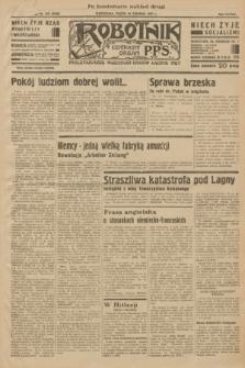 Robotnik : centralny organ P.P.S. R.38 [i.e.39], nr 475 (29 grudnia 1933) = nr 5620 (po konfiskacie nakład drugi)