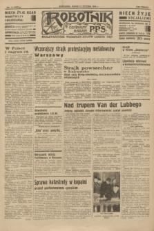 Robotnik : centralny organ P.P.S. R.38 [i.e.40], nr 14 (12 stycznia 1934) = nr 5636