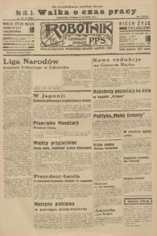 Robotnik : centralny organ P.P.S. R.38 [i.e.40], nr 28 (23 stycznia 1934) = nr 5690 [i.e.5650] (po konfiskacie nakład drugi)