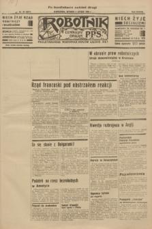 Robotnik : centralny organ P.P.S. R.38 [i.e.40], nr 49 (6 lutego 1934) = nr 5671 (po konfiskacie nakład drugi)
