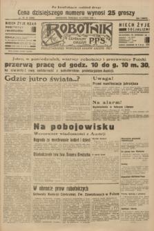 Robotnik : centralny organ P.P.S. R.38 [i.e.40], nr 67 (18 lutego 1934) = nr 5688 (po konfiskacie nakład drugi)