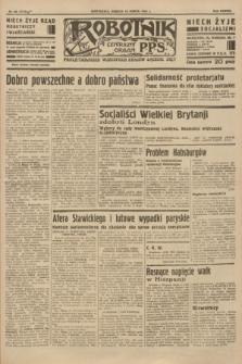 Robotnik : centralny organ P.P.S. R.38 [i.e.40], nr 98 (10 marca 1934) = nr 5719