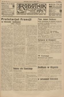 Robotnik : centralny organ P.P.S. R.38 [i.e.40], nr 105 (16 marca 1934) = nr 5727