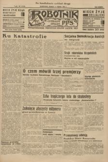 Robotnik : centralny organ P.P.S. R.38 [i.e.40], nr 107 (17 marca 1934) = nr 5729 (po konfiskacie nakład drugi)