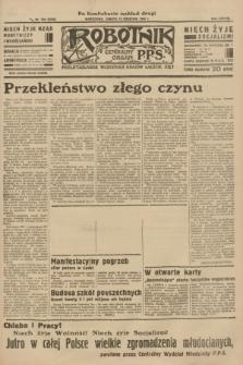 Robotnik : centralny organ P.P.S. R.38 [i.e.40], nr 142 (14 kwietnia 1934) = nr 5763 (po konfiskacie nakład drugi)