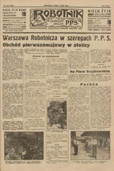 Robotnik : centralny organ P.P.S. R.39 [i.e.40], nr 162 (2 maja 1934) = nr 5783