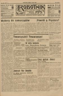 Robotnik : centralny organ P.P.S. R.39 [i.e.40], nr 169 (9 maja 1934) = nr 5790