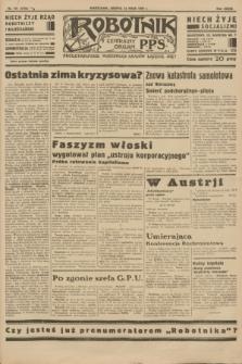 Robotnik : centralny organ P.P.S. R.39 [i.e.40], nr 172 (12 maja 1934) = nr 5793