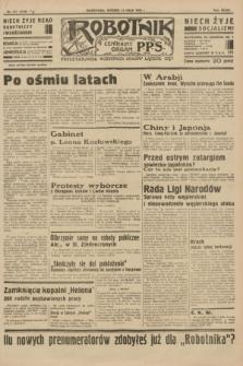 Robotnik : centralny organ P.P.S. R.39 [i.e.40], nr 175 (15 maja 1934) = nr 5796