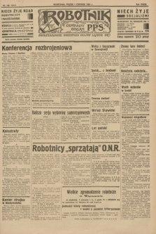 Robotnik : centralny organ P.P.S. R.39 [i.e.40], nr 193 (1 czerwca 1934) = nr 5814