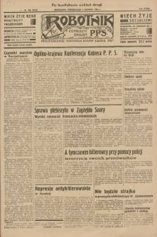 Robotnik : centralny organ P.P.S. R.39 [i.e.40], nr 198 (4 czerwca 1934) = nr 5819 (po konfiskacie nakład drugi)