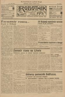 Robotnik : centralny organ P.P.S. R.39 [i.e.40], nr 203 (8 czerwca 1934) = nr 5824 (po konfiskacie nakład drugi)