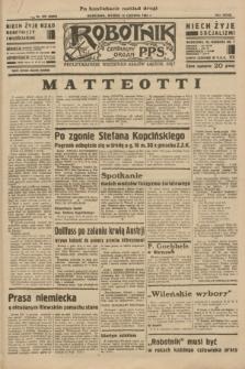 Robotnik : centralny organ P.P.S. R.39 [i.e.40], nr 209 (12 czerwca 1934) = nr 5830 (po konfiskacie nakład drugi)
