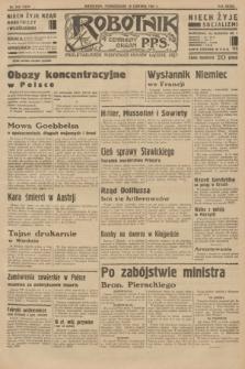 Robotnik : centralny organ P.P.S. R.39 [i.e.40], nr 218 (18 czerwca 1934) = nr 5839
