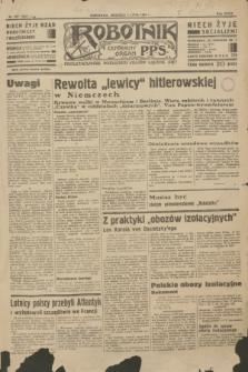 Robotnik : centralny organ P.P.S. R.39 [i.e.40], nr 237 (1 lipca 1934) = nr 5857
