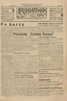 Robotnik : centralny organ P.P.S. R.39 [i.e.40], nr 242 (5 lipca 1934) = nr 5862 (po konfiskacie nakład drugi)