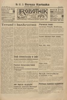 Robotnik : centralny organ P.P.S. R.39 [i.e.40], nr 252 (14 lipca 1934) = nr 5872