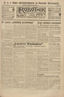 Robotnik : centralny organ P.P.S. R.39 [i.e.40], nr 253 (15 lipca 1934) = nr 5873