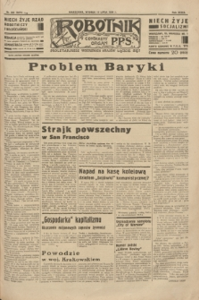 Robotnik : centralny organ P.P.S. R.39 [i.e.40], nr 255 (17 lipca 1934) = nr 5875