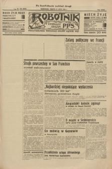 Robotnik : centralny organ P.P.S. R.39 [i.e.40], nr 260 (21 lipca 1934) = nr 5880 (po konfiskacie nakład drugi)