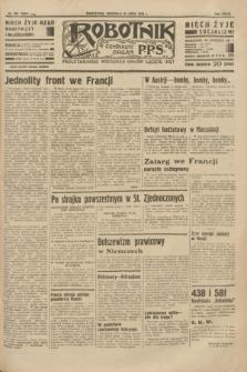 Robotnik : centralny organ P.P.S. R.39 [i.e.40], nr 261 (22 lipca 1934) = nr 5881