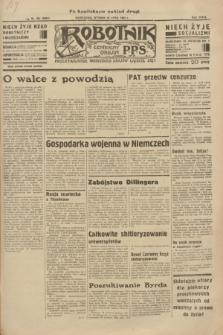 Robotnik : centralny organ P.P.S. R.39 [i.e.40], nr 264 (24 lipca 1934) = nr 5884 (po konfiskacie nakład drugi)